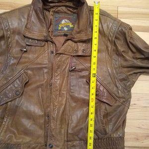 Wilsons Leather Jackets & Coats - VTG Adventure Bound Men's Brown Leather Jacket